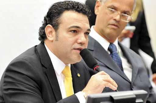O deputado é autor de proposta que tenta anular decisão do STF validando a união civil homoafetiva (Bruno Peres/CB/D.A Press - 13/3/13)