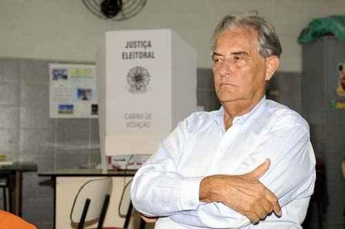 Roriz filiou-se ao PRTB, de Luiz Estevão, e tem dito que quer sair como cabeça de chapa: Liliane, sua filha, é um plano B (Marcelo Ferreira/CB/D.A Press - 31/10/10)