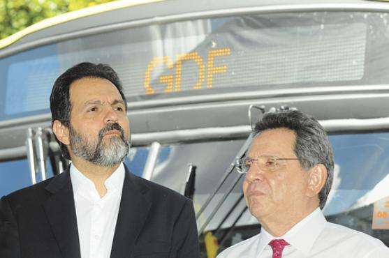 Agnelo e Filippelli repetirão a aliança entre o PT e o PMDB em 2014  (Janine Morais/CB/DA Press)