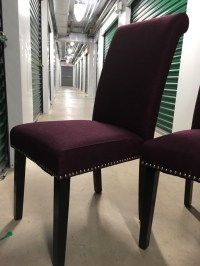 letgo - Purple armless dining chairs in Gay Street, PA