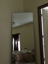 letgo - Floor to ceiling mirror in Sachse, TX