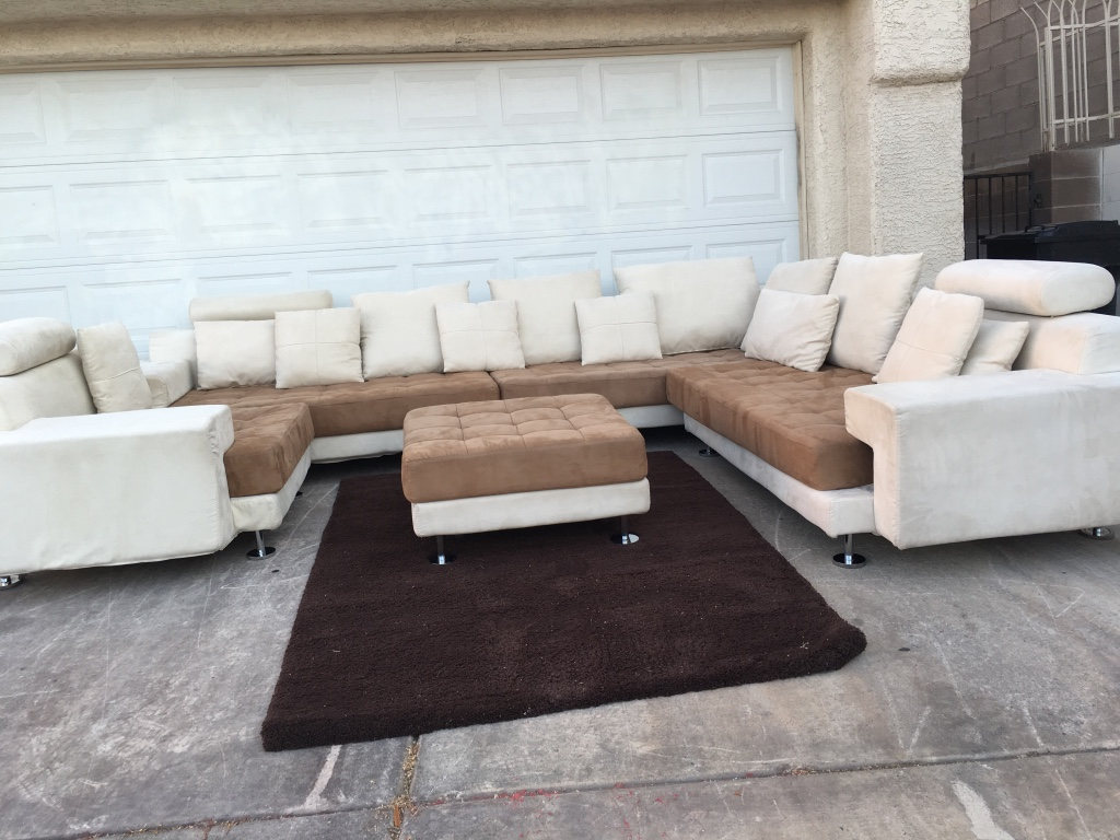 sectional sofas in las vegas nv lounger sofa dimensions letgo white and brown