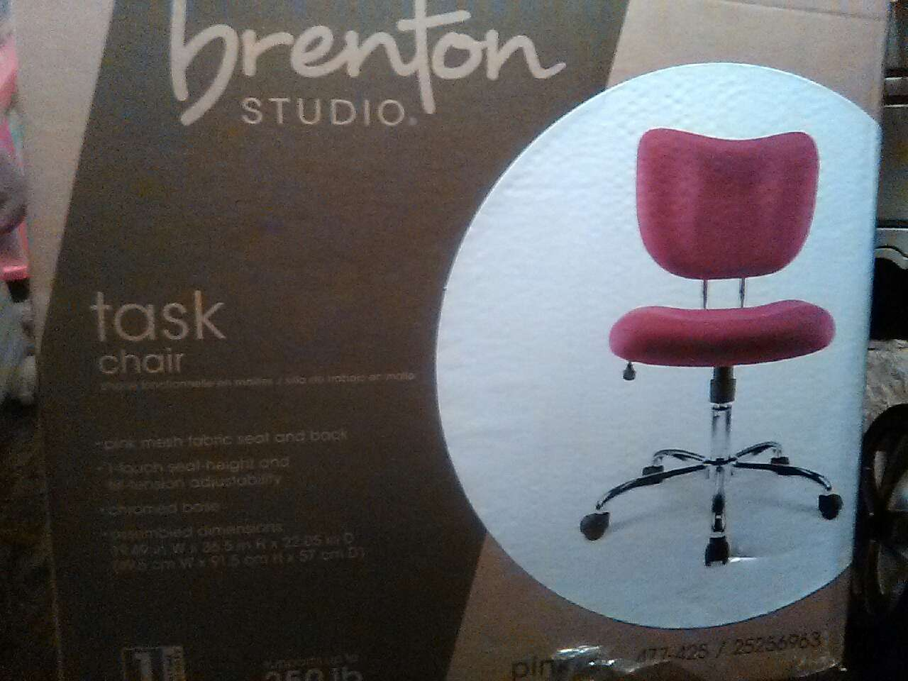 brenton studio task chair glass table and chairs letgo in lackland tx
