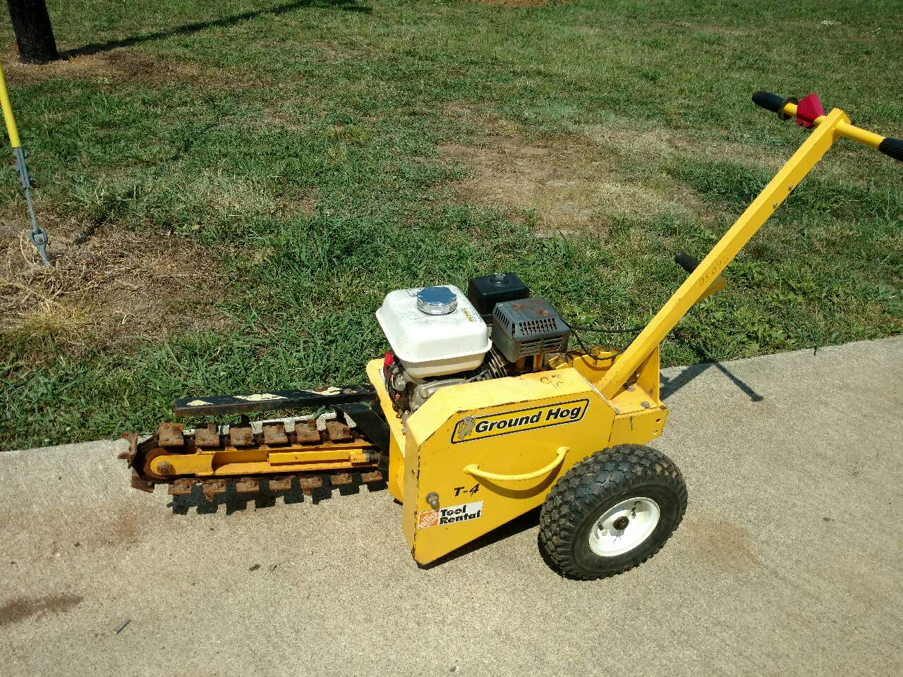 Groundhog Trencher - Year of Clean Water