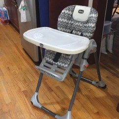 Chicco Snap On High Chair Wedding Covers Gloucester Letgo Grey And White With Tray In Methuen Ma