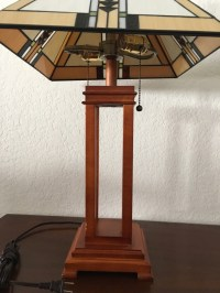 letgo - Craftsman style lamp with... in East Long Beach, CA