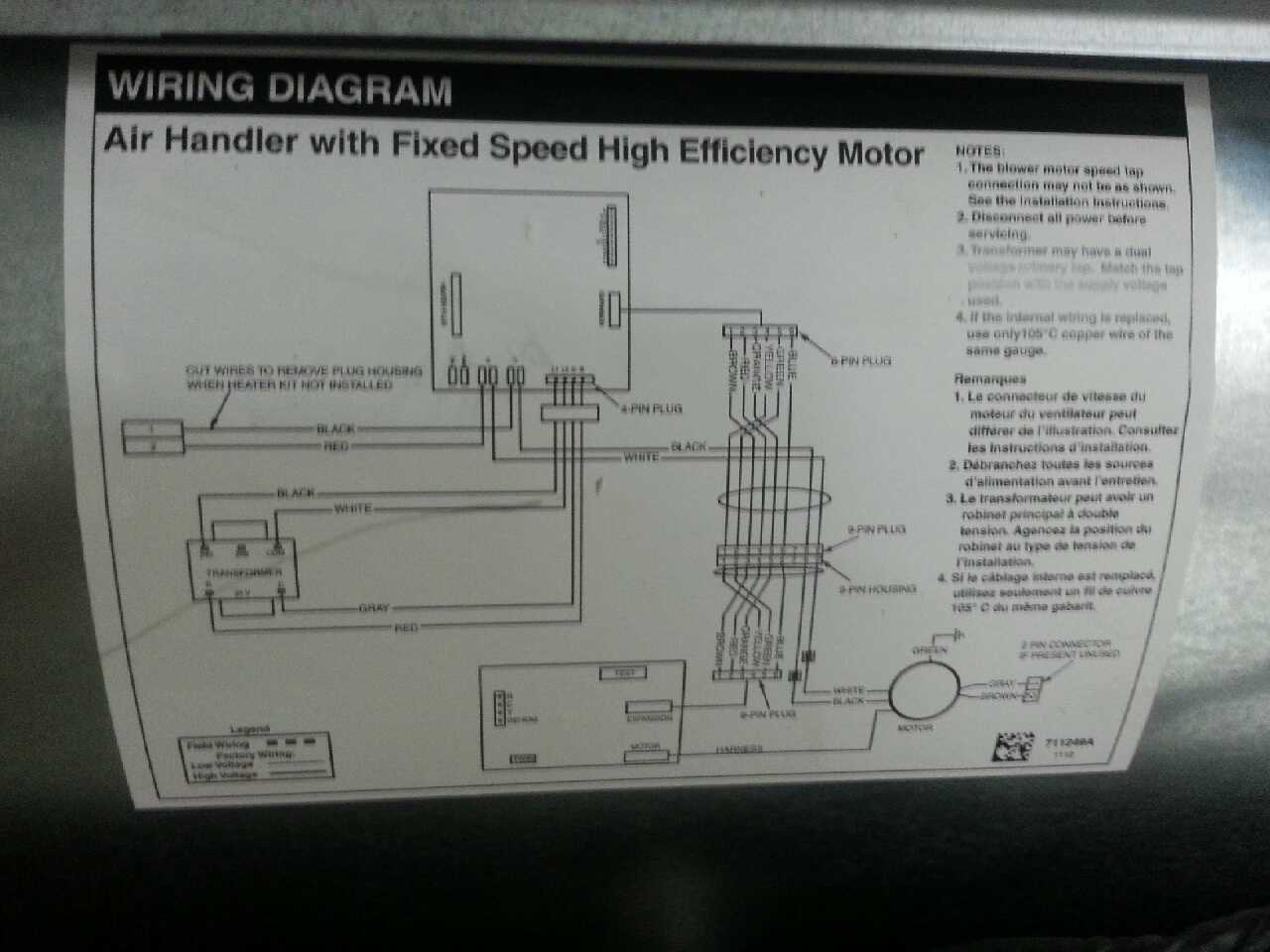 wiring diagram for ac unit thermostat hopkins agility brake controller letgo nordyne air handler in gatesville nc