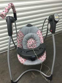 letgo - Baby's pink gray and black mobile sw... in Arden, NV