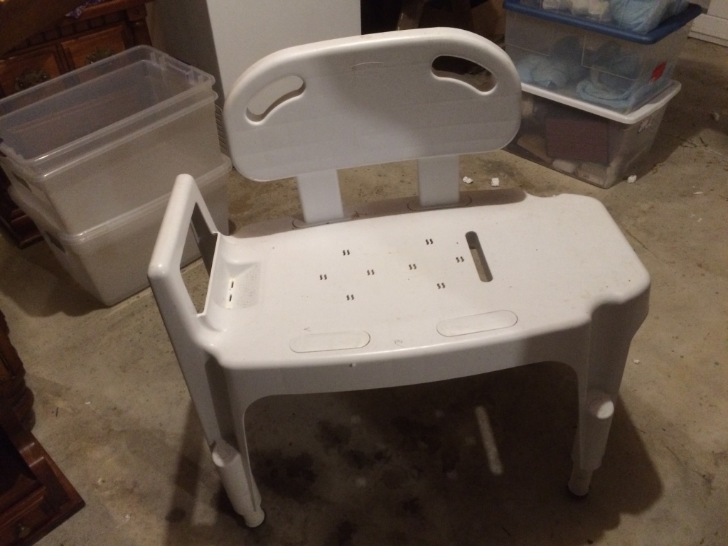 Handicap Bath Chair Letgo Handicap Bath Chair In Benson Md