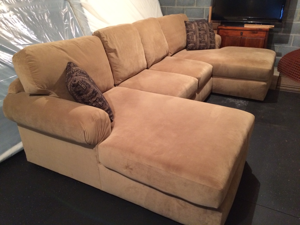 sectional sofas light brown cindy crawford home nolita taupe sofa letgo f in johnson city tn