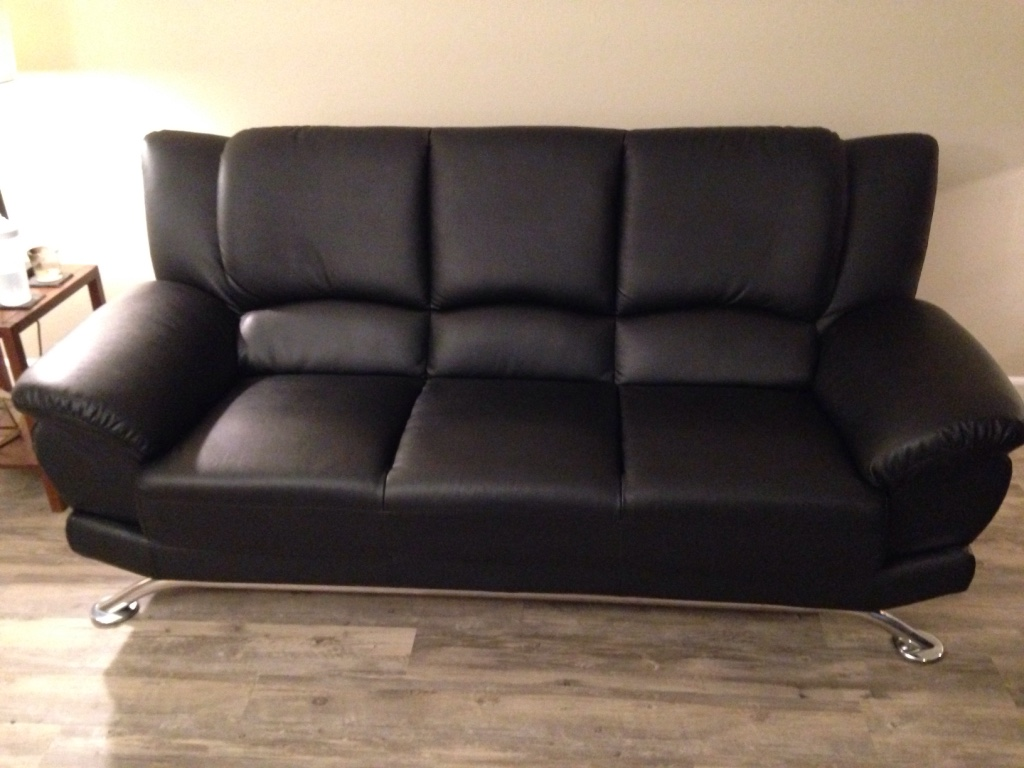 sofa san jose market kids pull out letgo urban living black leather a in ca