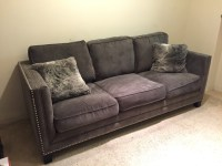 letgo - Urban home grey studded couch... in Arco Station, CA