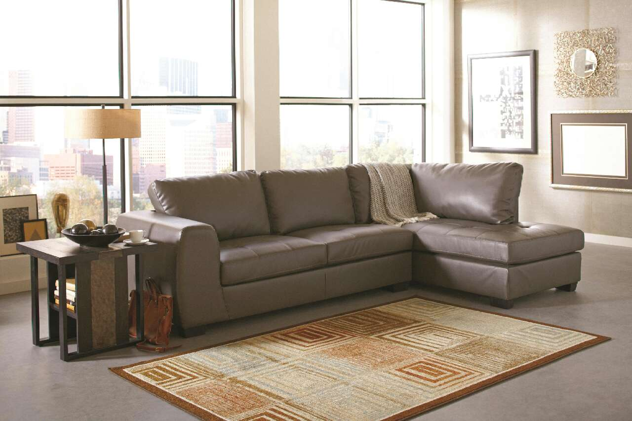sofa dallas texas country style and chair letgo joaquin grey leather sectional in tx