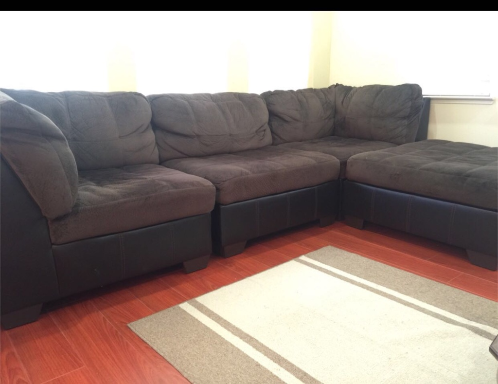 sofa san jose market side end table uk letgo ashley 4 sectional in ca