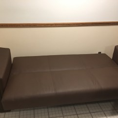 Convertible Sofa Beds New York Studded Mirrored Table Letgo Bed Brown In Rockaway Point Ny