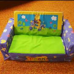 Disney Princess Flip Out Sofa With Slumber Bag Tub Chair And Set Letgo Winnie The Pooh S In Utica Mi