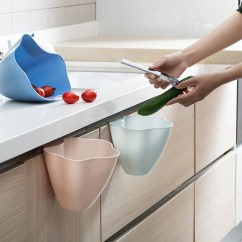 Kitchen Trash Bin Can I Paint My Cabinets 厨房垃圾桶3个装挂式家用橱柜门杂物桶创意无盖垃圾筒梵尼驼清洁工具其他 厨房垃圾桶3个装挂式家用橱柜门杂物桶创意无