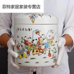 Kitchen Crocks Marble Table Set 厨房陶瓷米缸价格 厨房陶瓷米缸最新报价 厨房陶瓷米缸多少钱 苏宁易购 陶瓷米缸家用厨房米桶储米箱带盖面粉罐子密封储