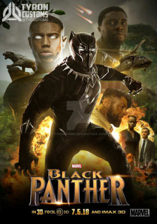Black Panther 2018 HDTC 999MB English 720p Watch Online Full Movie Download Worldfree4u 9xmovies
