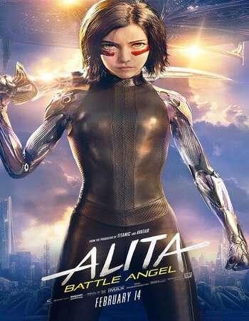 Alita Battle Angel 2019 Movie Hindi Dual Audio HEVC 720p HDRip 600MB