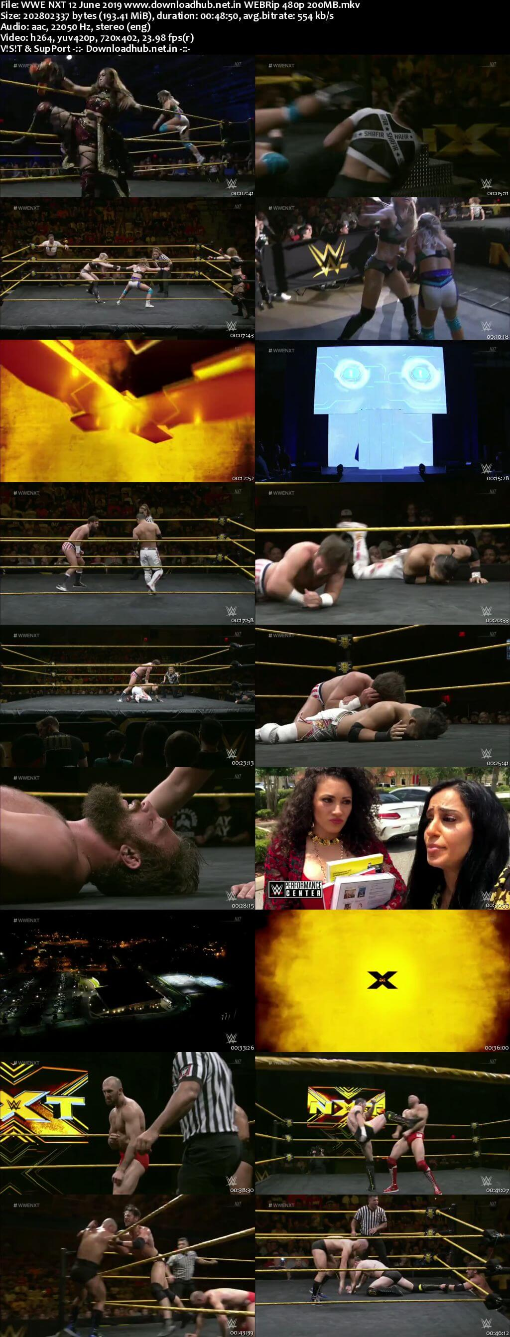 Download WWE NXT 12th June 2019