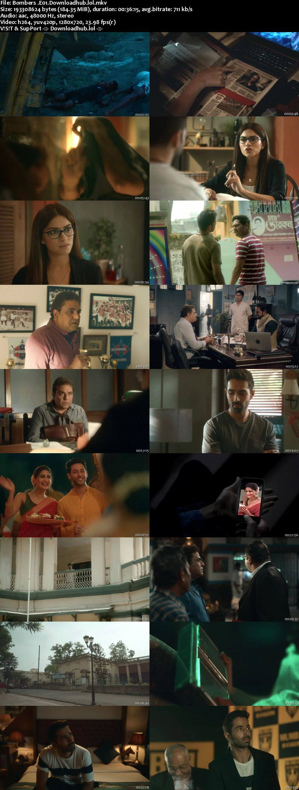 Bombers 2019 Hindi Web Series Season 01 Complete Episodes 720p