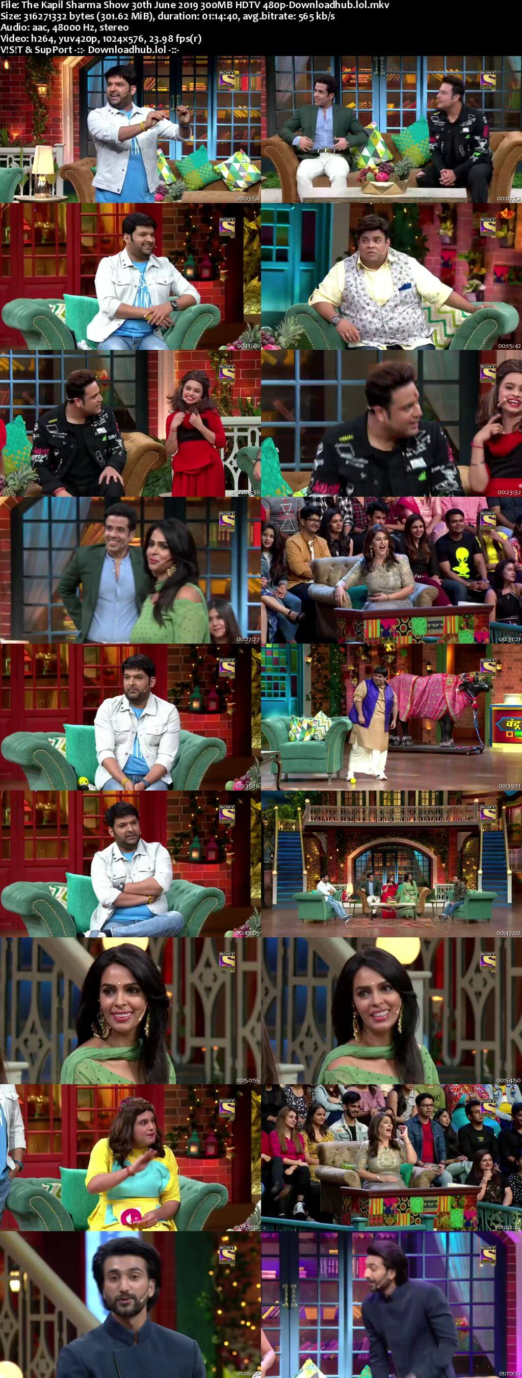 The Kapil Sharma Show 30th June 2019 300MB Download