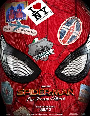 Spider Man Far from Home 2019 Hindi Dual Audio 350MB 480p Download