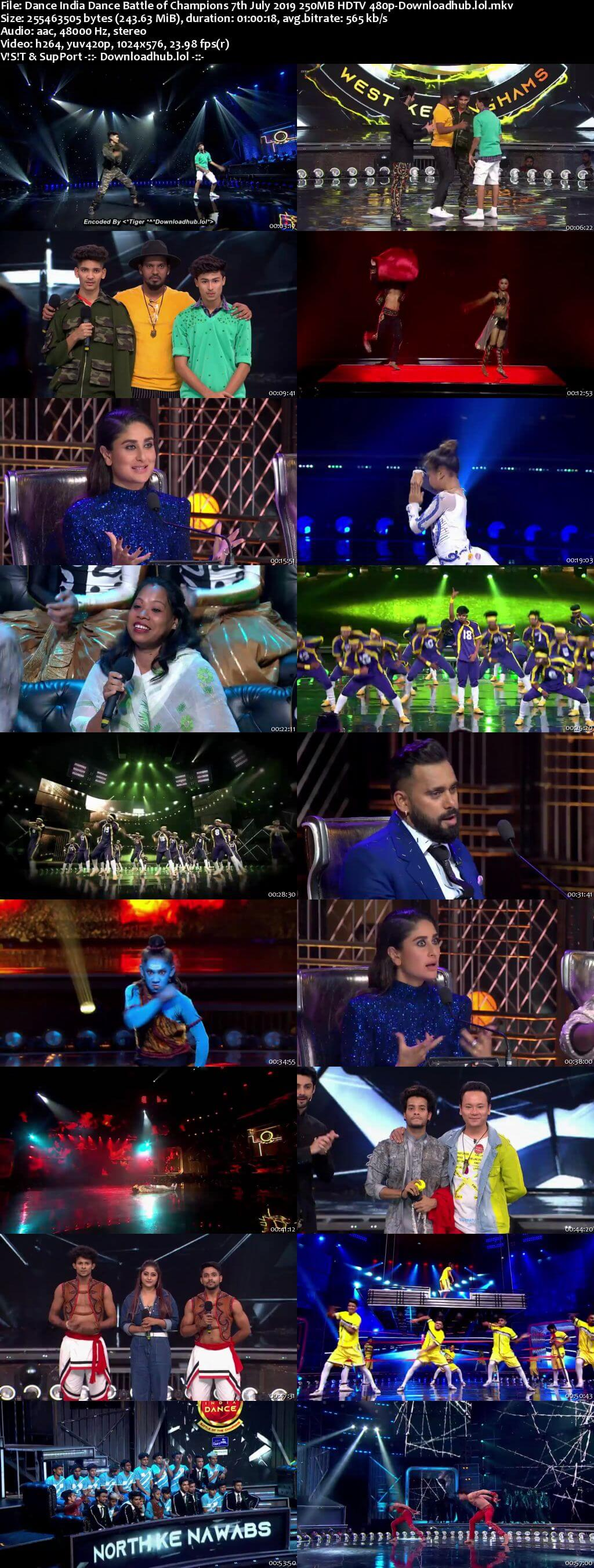 Dance India Dance Battle of Champions 7th July 2019 Download