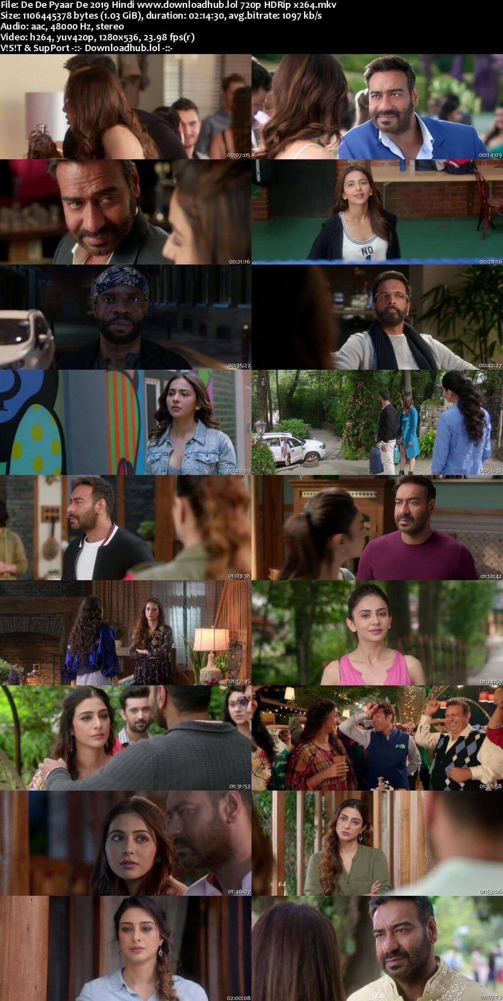 De De Pyaar De 2019 Hindi Movie 720p HDRip Download