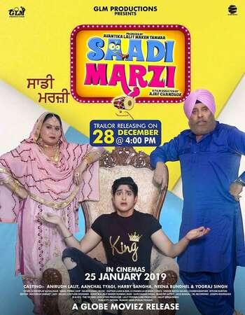 Saadi Marzi 2019 Punjabi Movie 300MB HDRip 480p ESubs Download