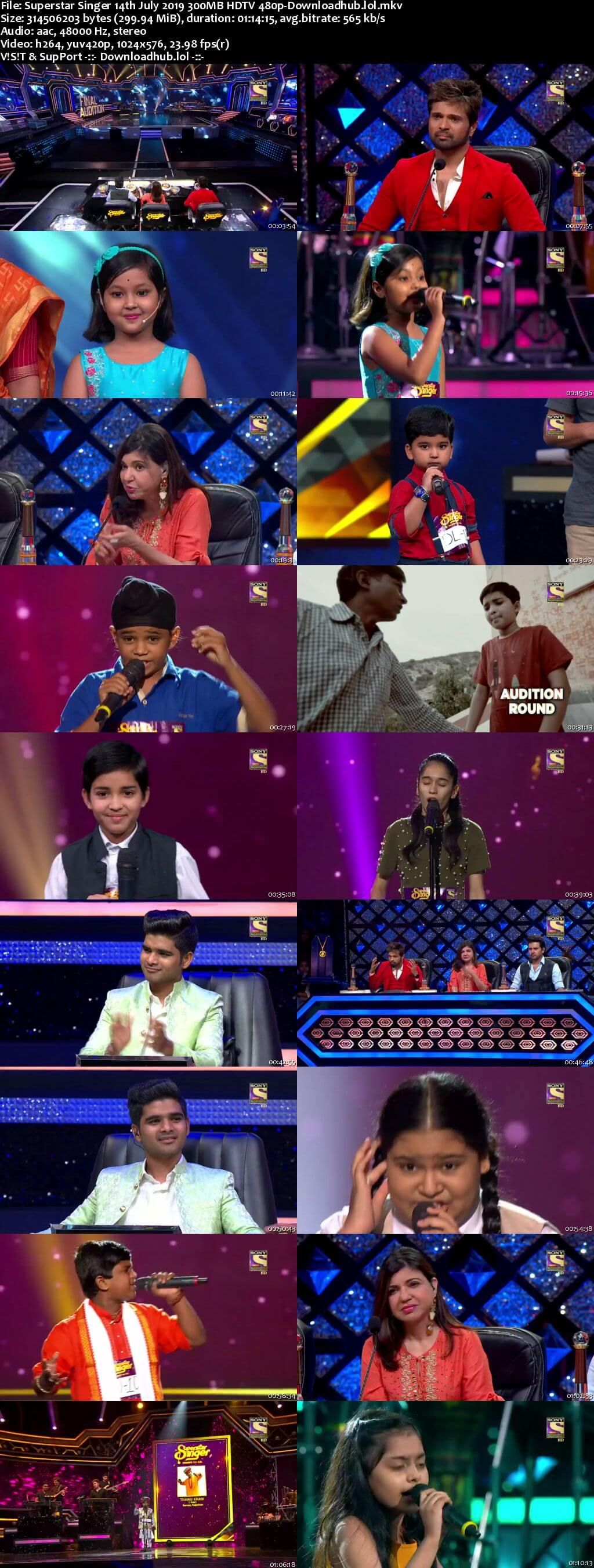 Watch Online Superstar Singer 14th July 2019 Full Show Download
