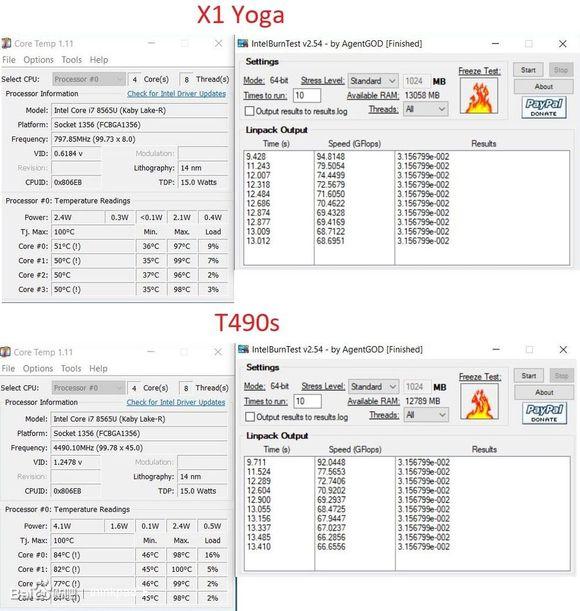 T490S拆机图(附:与 X1 Yoga Gen 3性能对比)_thinkpad吧_百度贴吧