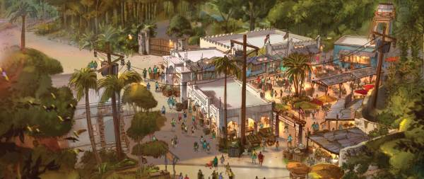 Disney Animal Kingdom Africa Art
