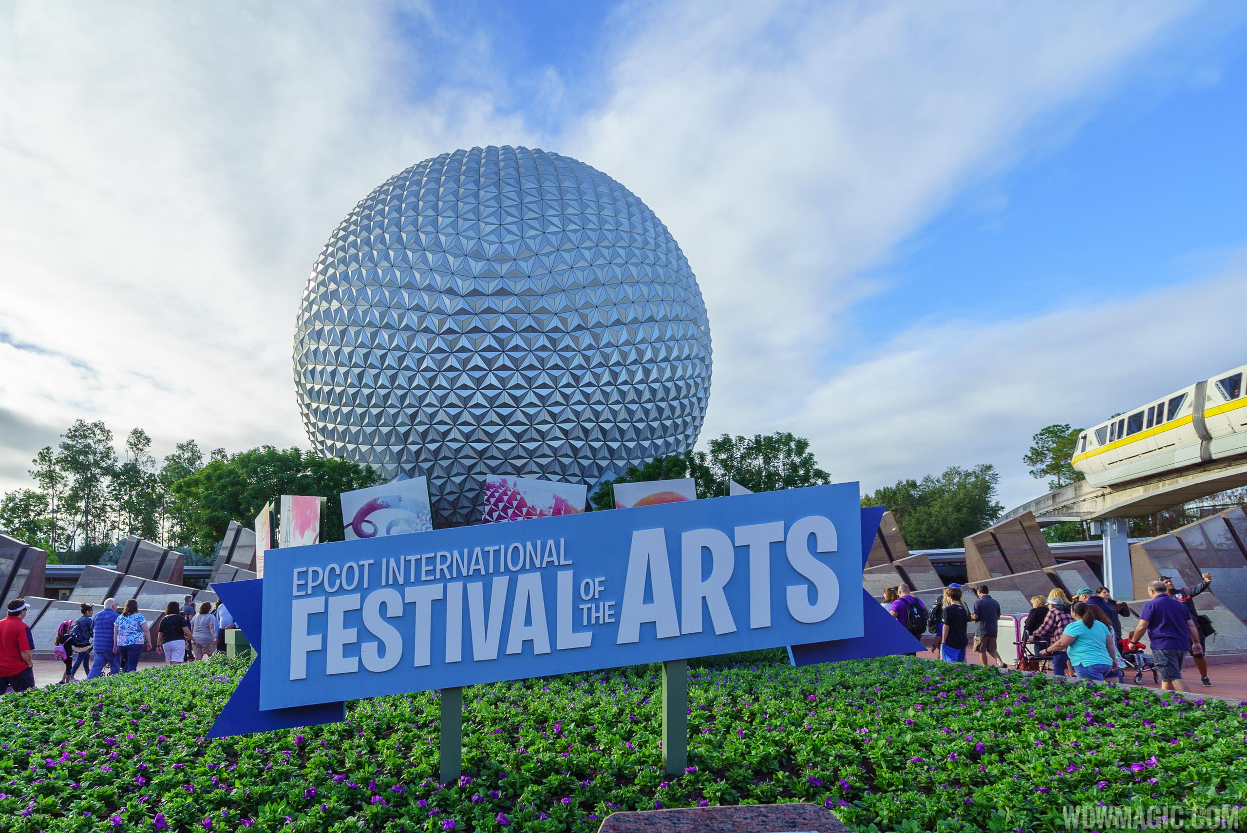 Opening Day Tour Of Epcot International