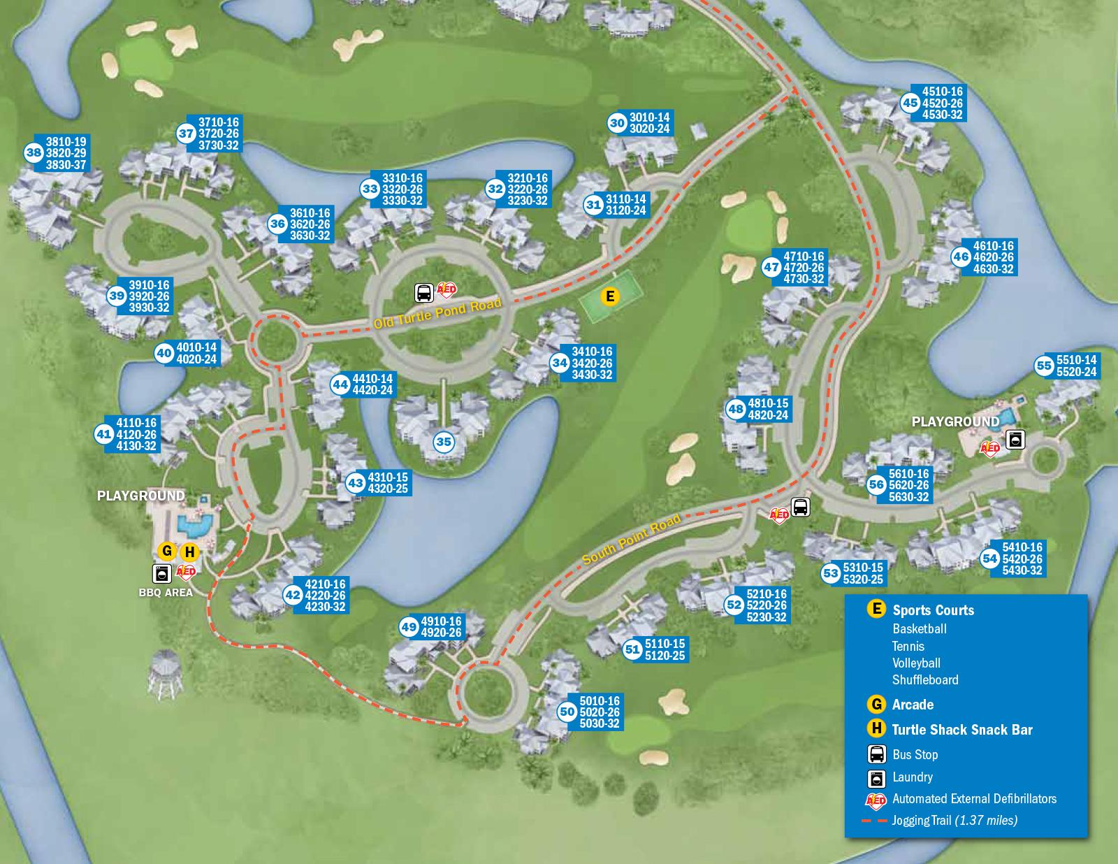 2013 Resort Hotel Maps - 25 Of 37