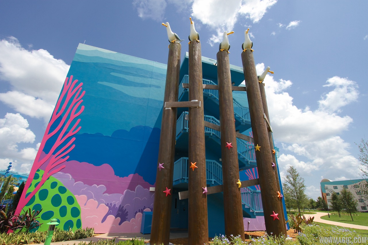 Disney Art Animation Resort Finding Nemo