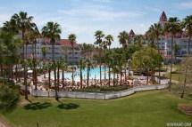 Courtyard Pool Disney' Grand Floridian Resort