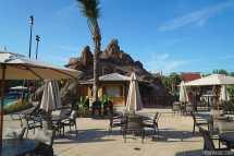 Lava Pool at Disney Polynesian Village Resort