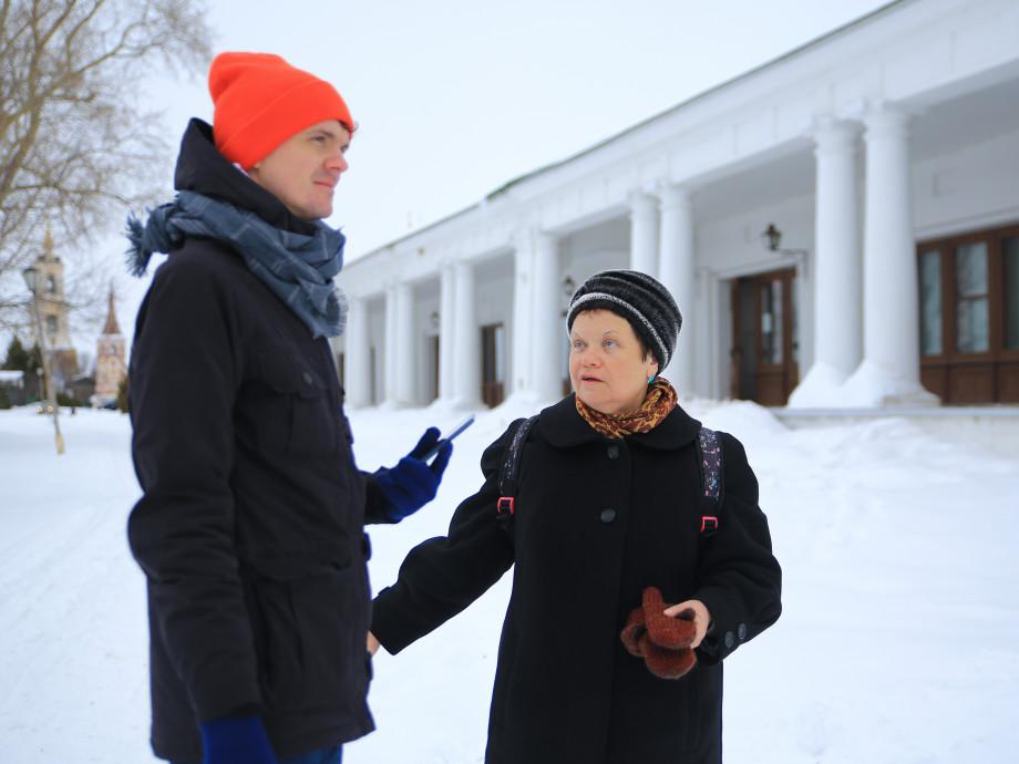 Rumah Abad Xix di Jalan Kremlin, Suzdal
