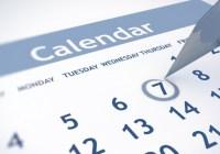 Events & Dates Calendar
