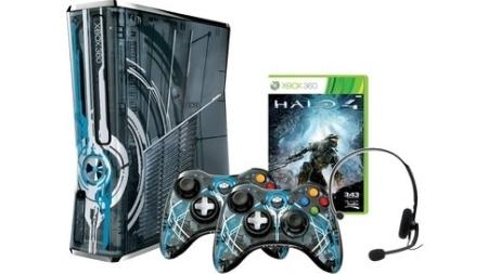 """A edição limitada do Xbox 360 acompanhará o lançamento de """"Halo 4"""""""