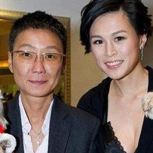 Gigi Chao (d) teria se casado com sua namorada há sete anos, Sean Eav (e)