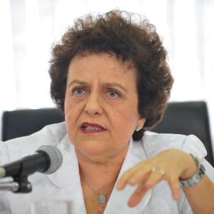 Ministra da Secretaria de Políticas para Mulheres, Eleonora Menicucci, participa do lançamento do 2º Plano de Enfrentamento ao Tráfico de Pessoas, nesta terça-feira (26), em Brasília
