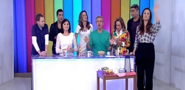 """Vídeo Show"" recebe os apresentadores do ""É de Casa"", novo programa da Globo"