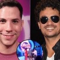 SBT exibe hoje briga entre Christian Chávez e Léo Maia no Esse Artista Sou Eu
