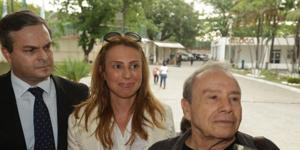 """""""Eu sou o viagra dele"""", diz mulher de Stênio Garcia"""