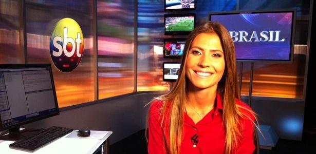 Patrícia Rocha já faz entradas ao vivo na programação do SBT