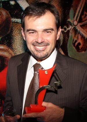 Tino Marcos recebeu o Prêmio Comunique-se em 2013