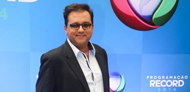 """O apresentador Geraldo Luis, do """"Domingo Show"""""""